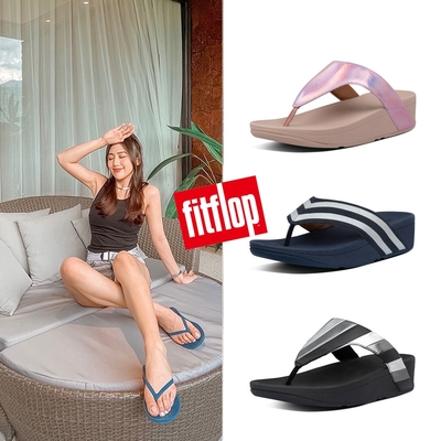 【時時樂】FitFlop-精選舒適耐走時尚夾腳涼鞋厚底涼鞋-女(共7款)