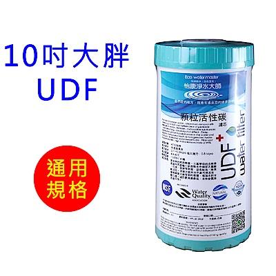 怡康 10吋大胖標準UDF椰殼活性碳濾心1支