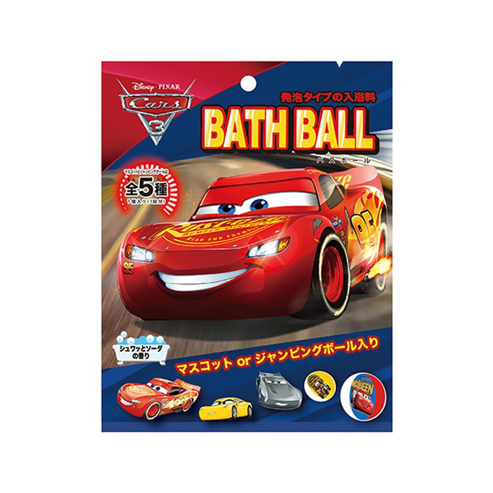 日本NOL-CARS汽車總動員3泡澡球: 閃電再起1入(隨機出貨)