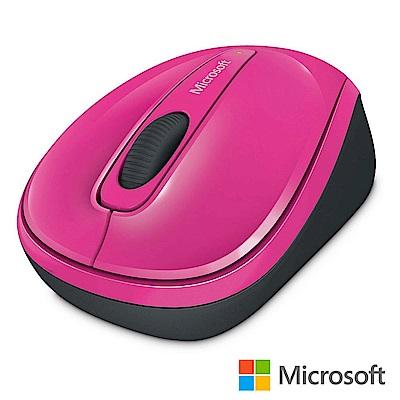 微軟 無線行動滑鼠 3500 - 粉紅 盒裝