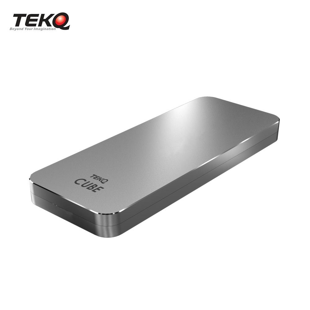 TEKQ CUBE Thunderbolt 3 M.2 高速SSD外接盒-太空灰