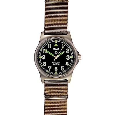 MWC瑞士軍錶 G10LM 步兵系列 沙漠卡其色軍事設計錶 -黑色/35mm @ Y!購物