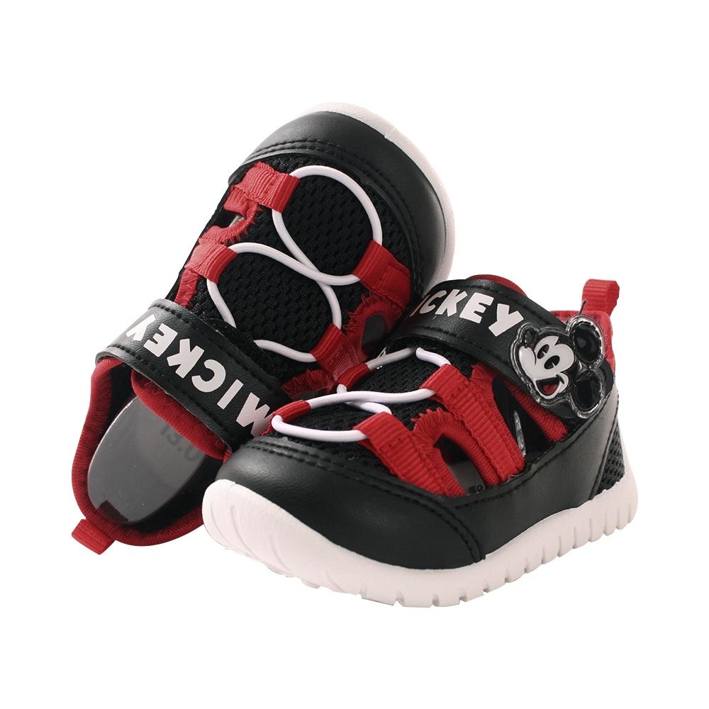 女童鞋 台灣製迪士尼米妮授權正版透氣網布休閒涼鞋sk0998 魔法Baby