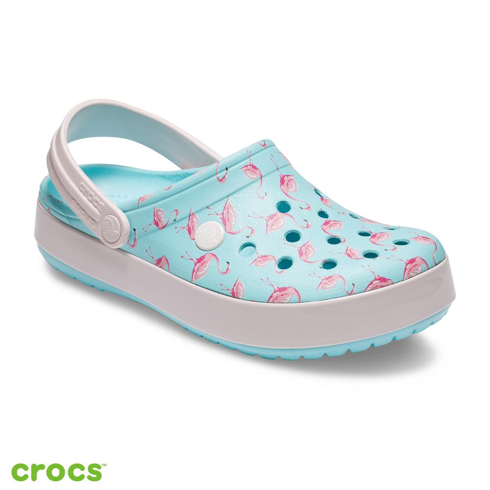 Crocs 卡駱馳 (中性鞋) 卡駱班花紋克駱格 205579-4IU