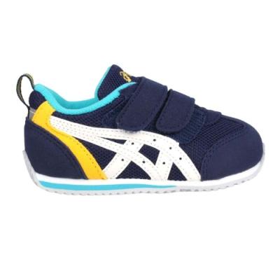 ASICS IDAHO BABY 3 男女兒童運動鞋-慢跑 亞瑟士 童鞋 TUB165-5001 丈青白黃