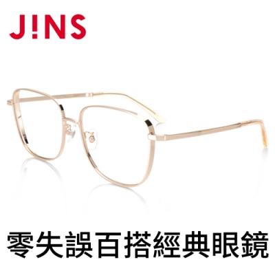 JINS 零失誤百搭經典眼鏡(AMMF20A082)金色