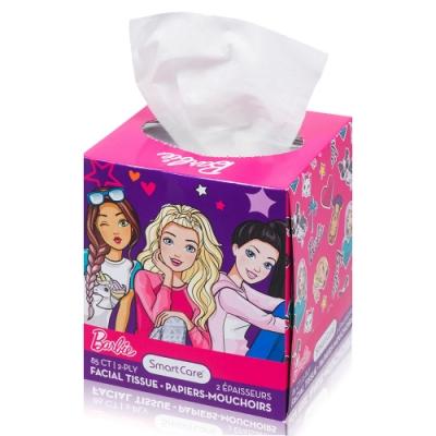 Barbie 盒裝面紙 85抽
