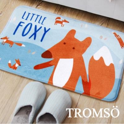 TROMSO簡單生活超柔軟地墊-M102歡樂狐狸