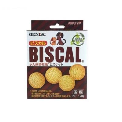 日本GENDAI現代-BISCAL必吃客消臭餅乾 170g (OD1127) 兩入組