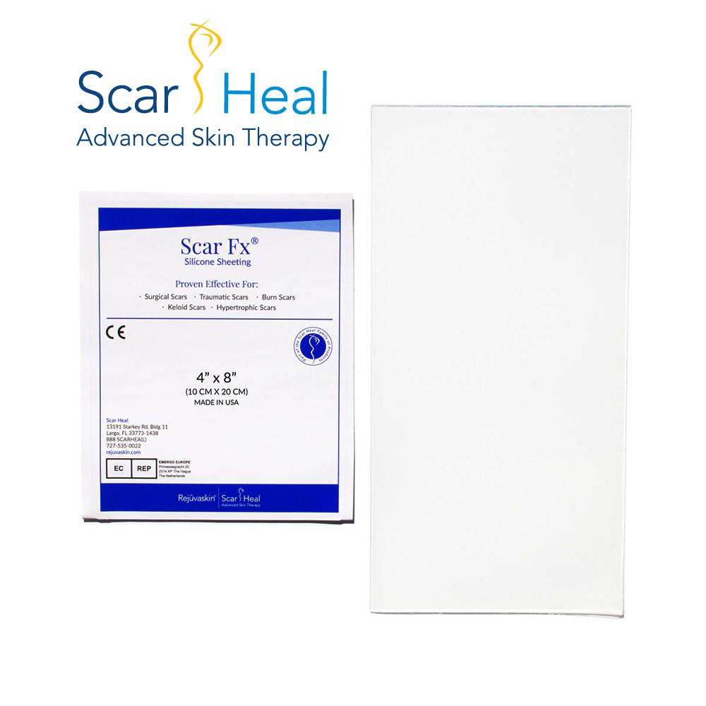 美國Scar Heal Scar Fx疤痕護理矽膠片(10 x 20公分)