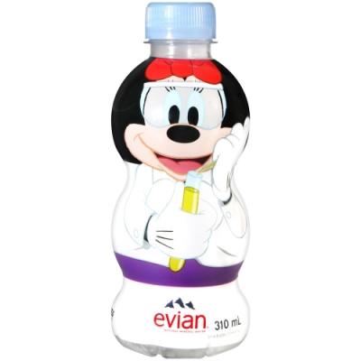 Evian 卡通造型礦泉水(310ml)