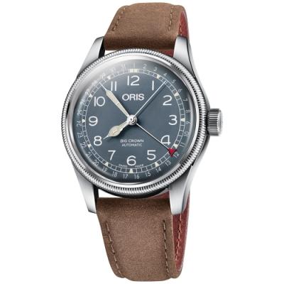 ORIS 豪利時 Big Crown指針式日期機械錶-40mm