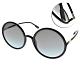 DIOR太陽眼鏡  優雅復古大圓框款/黑-漸層藍 #SOSTELLAIRE3 8071I product thumbnail 1