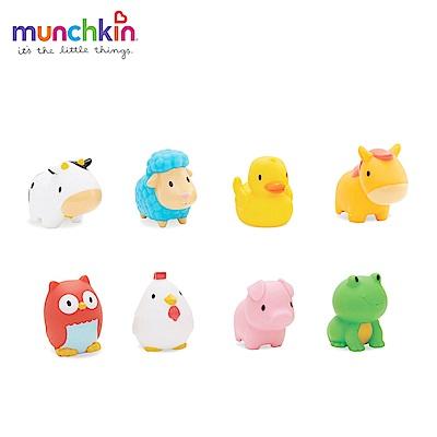 munchkin滿趣健-動物農場噴水洗澡玩具8入 @ Y!購物