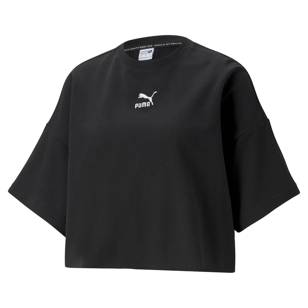 【PUMA官方旗艦】流行系列Classics不收邊短袖T恤 女性 53253901