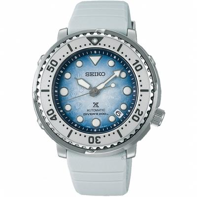 SEIKO 精工 Prospex 南極企鵝 200米潛水機械錶(SRPG59K1/4R35-04Z0H)