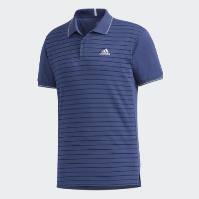 ADIDAS 運動 網球 POLO 衫 男款 藍 FK1413 HEAT.RDY Polo