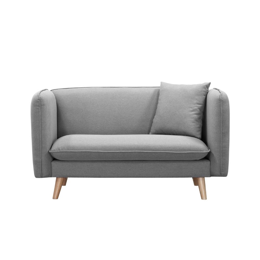 MUNA 米迪亞336型雙人座布沙發(共三色) 140X70X78cm