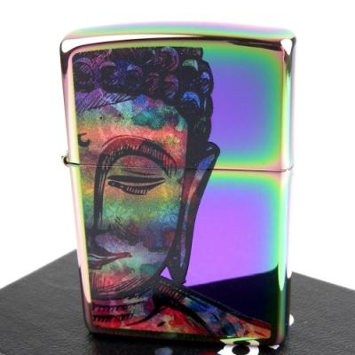 ZIPPO 美系~Bright Buddha-釋迦牟尼佛圖案打火機