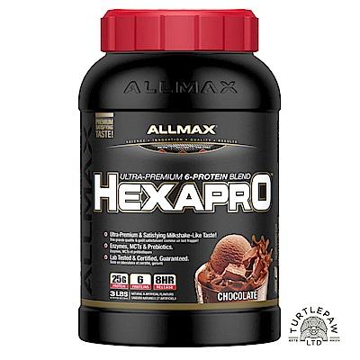 加拿大ALLMAX HEXAPRO六重乳清蛋白巧克力口味1瓶 (3磅