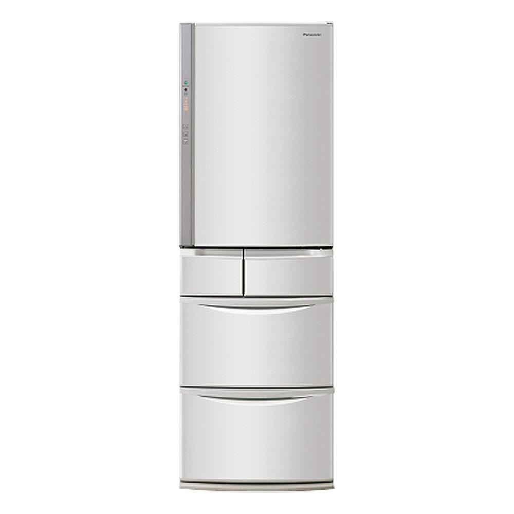 Panasonic國際牌411公升五門變頻冰箱NR-E414VT-N1香檳金