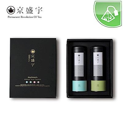 京盛宇 墨京 原葉袋茶禮盒(不知春20入+輕焙凍頂烏龍20入)
