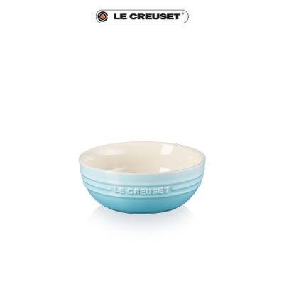 [結帳7折]LE CREUSET瓷器韓式湯碗(水漾藍)