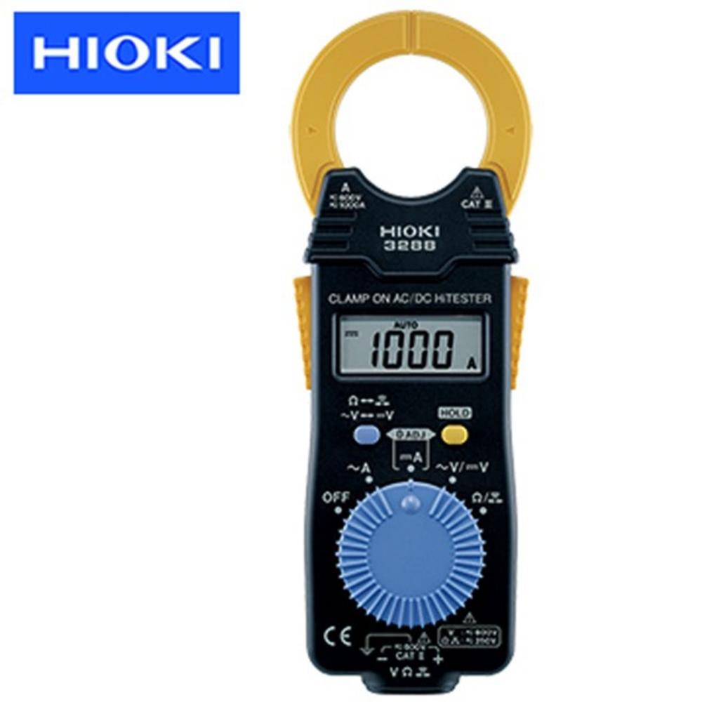 【HIOKI】卡片型電流勾表-AC/DC 1000A -3288