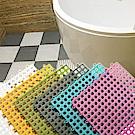 EZlife 浴室防滑拼接地墊18片組(贈積木造型燈)