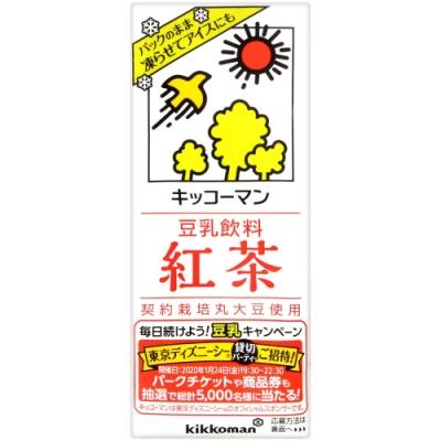 龜甲萬 龜甲萬豆乳-紅茶風味(200ml)