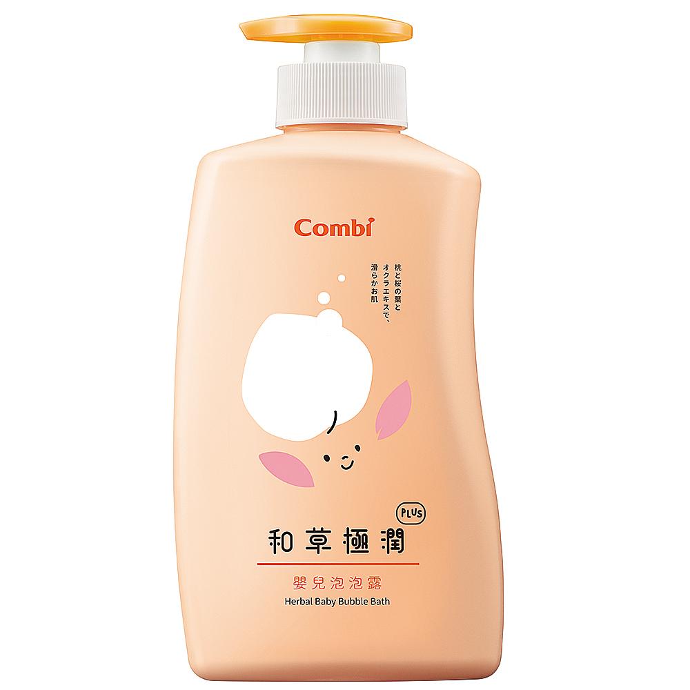【Combi 康貝】和草極潤嬰兒泡泡露Plus 500ml