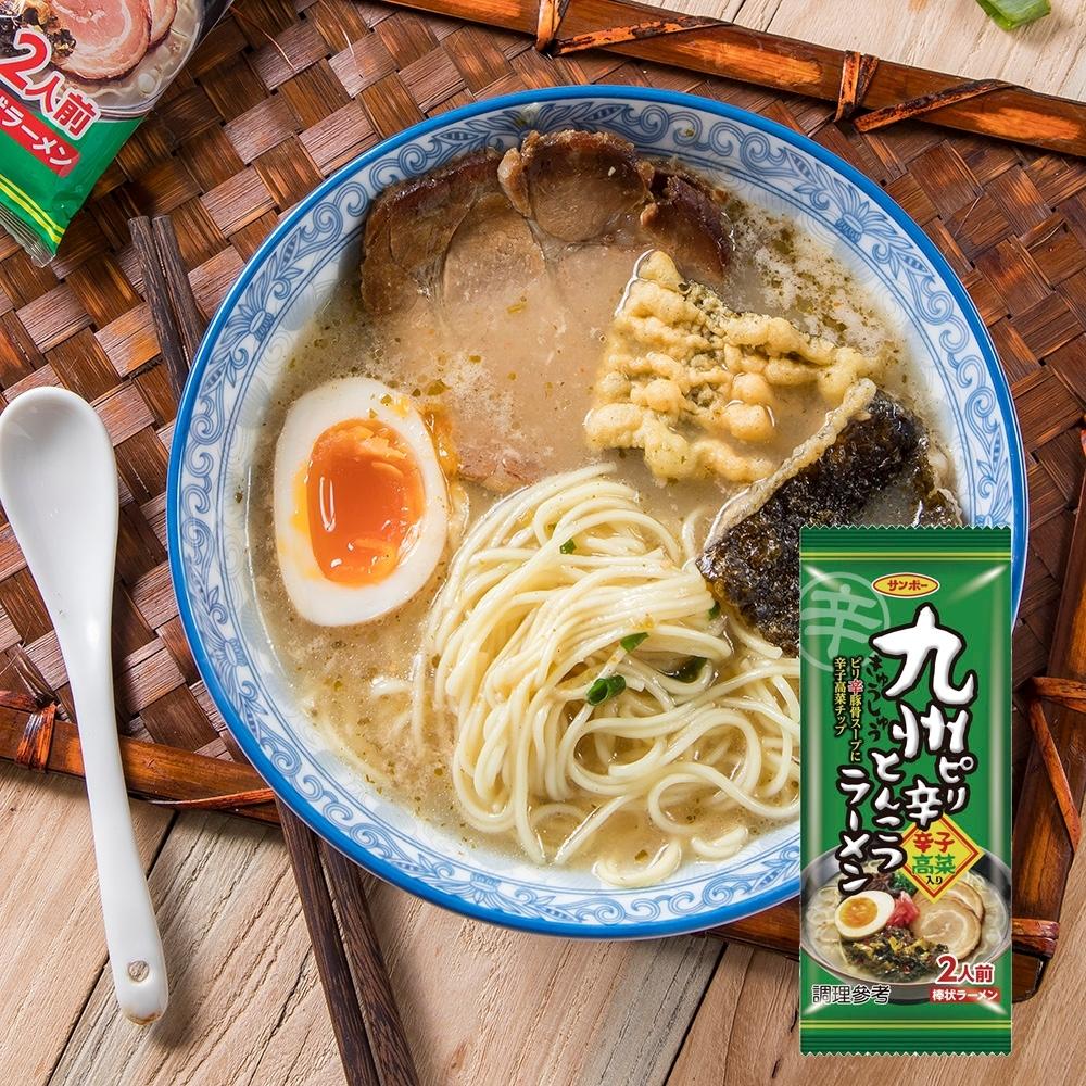 三寶棒狀 九州辛辣豚骨拉麵 (170g)