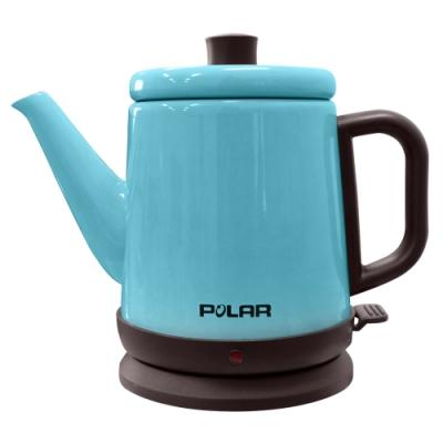 POLAR普樂0.8L不鏽鋼快煮壺(藍) PL-1739