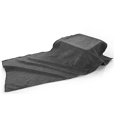 車的背包 超細纖維加厚磨絨擦車布(30x60cm 3入組)灰色
