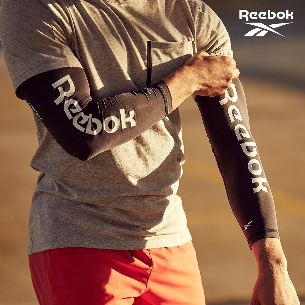 Reebok 溫控修復訓練袖套(經典黑/湖水綠) (經典黑)
