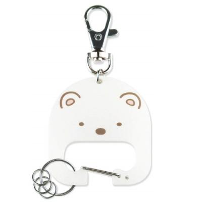 日本限定T S FACTORY角落生物鑰匙圈San-X角落小夥伴鑰匙扣吊飾SG-55215白熊貓咪蜥蝪企鵝