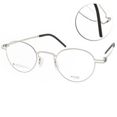 VYCOZ眼鏡 DURRA系列 薄鋼經典圓框款 /銀 #DR9004 SILVER