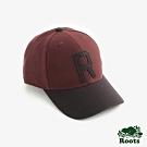 ROOTS配件  撞色棒球帽-紅