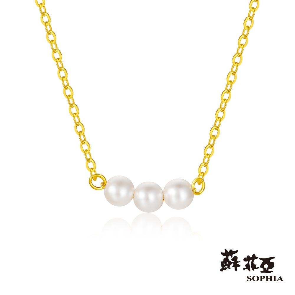 蘇菲亞SOPHIA - G LOVER系列珍愛黃金項鍊