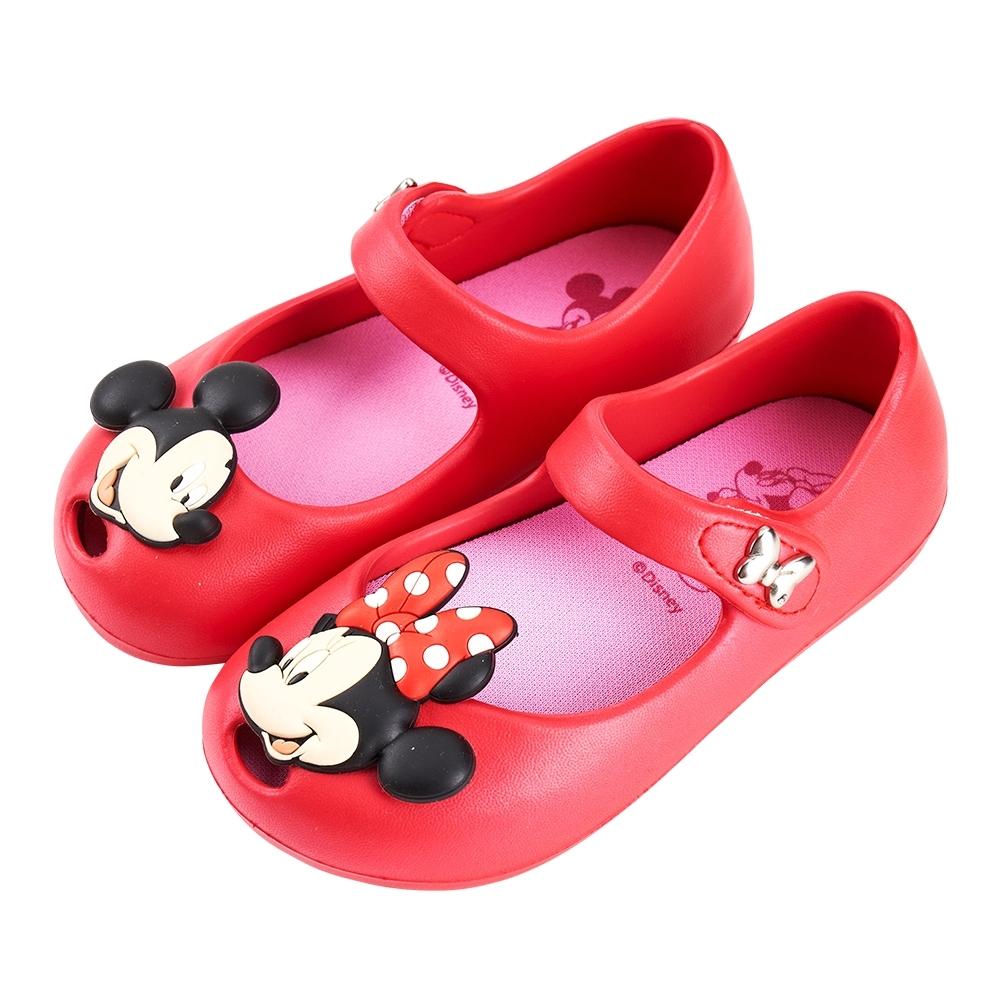 迪士尼童鞋 米妮 立體造型娃娃鞋-紅(柏睿鞋業)