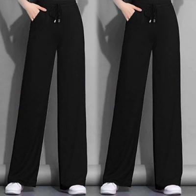【韓國K.W.】(預購)尺樹寸泓流行時尚長褲-2色