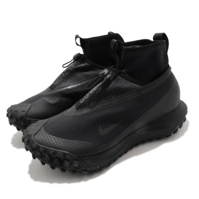Nike 休閒鞋 ACG Mountain Fly 男鞋 GTX 高筒 簡約 機能穿搭 反光 黑 灰 CT2904002