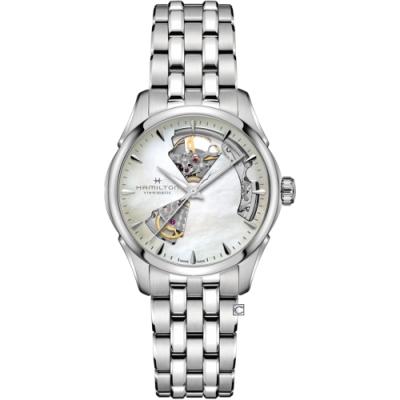 HAMILTON漢米爾頓爵士系列 OPEN HEART LADY機械錶(H32215190)36mm