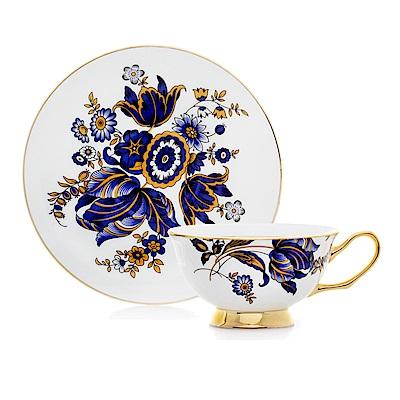 Royal Duke 骨瓷咖啡杯碟組-藍色古典(二杯二碟)