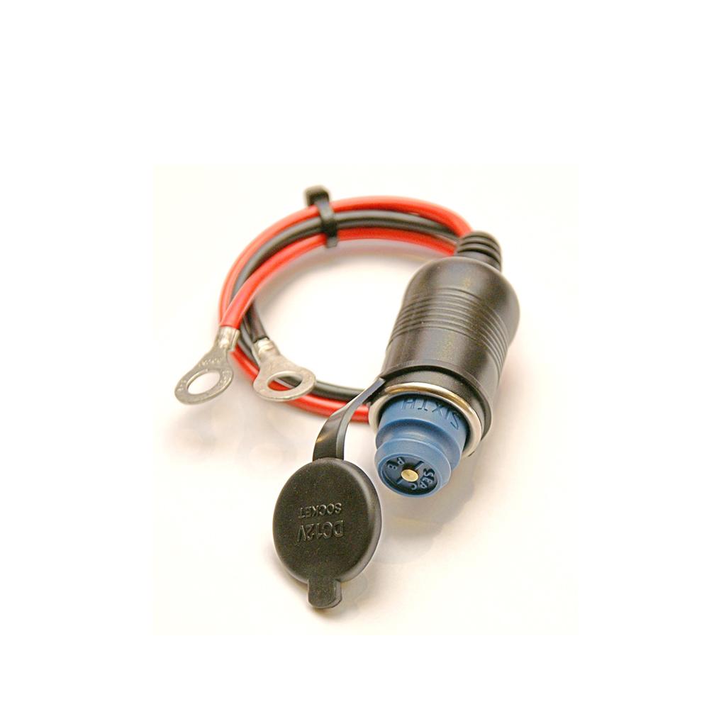 第六元素 電集棒 汽機車專用DC12V單孔插座