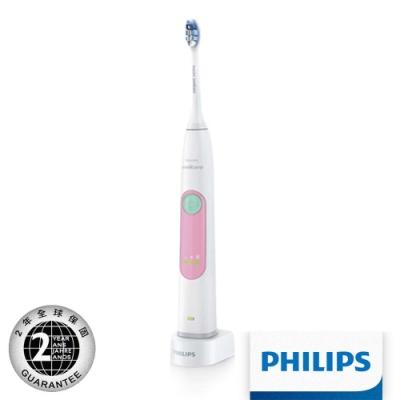 【Philips 飛利浦】 Sonicare護齦音波震動牙刷 HX6616/52(粉)