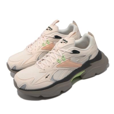 Reebok 休閒鞋 Royal Bridge 4 運動 女鞋 復古 舒適 簡約 厚底 球鞋 穿搭 粉 棕 GV7140
