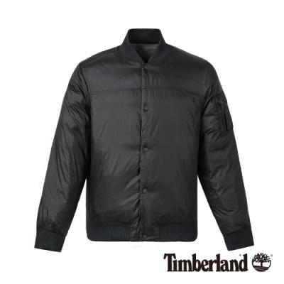 Timberland 男款經典黑兩面穿飛行夾克|A1YD8