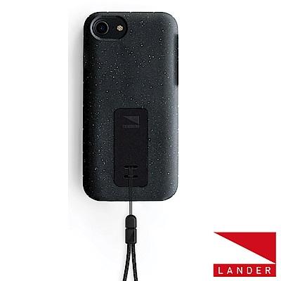 美國 Lander iPhone 8 / 7 Moab 防摔手機保護殼 - 黑(附手繩)