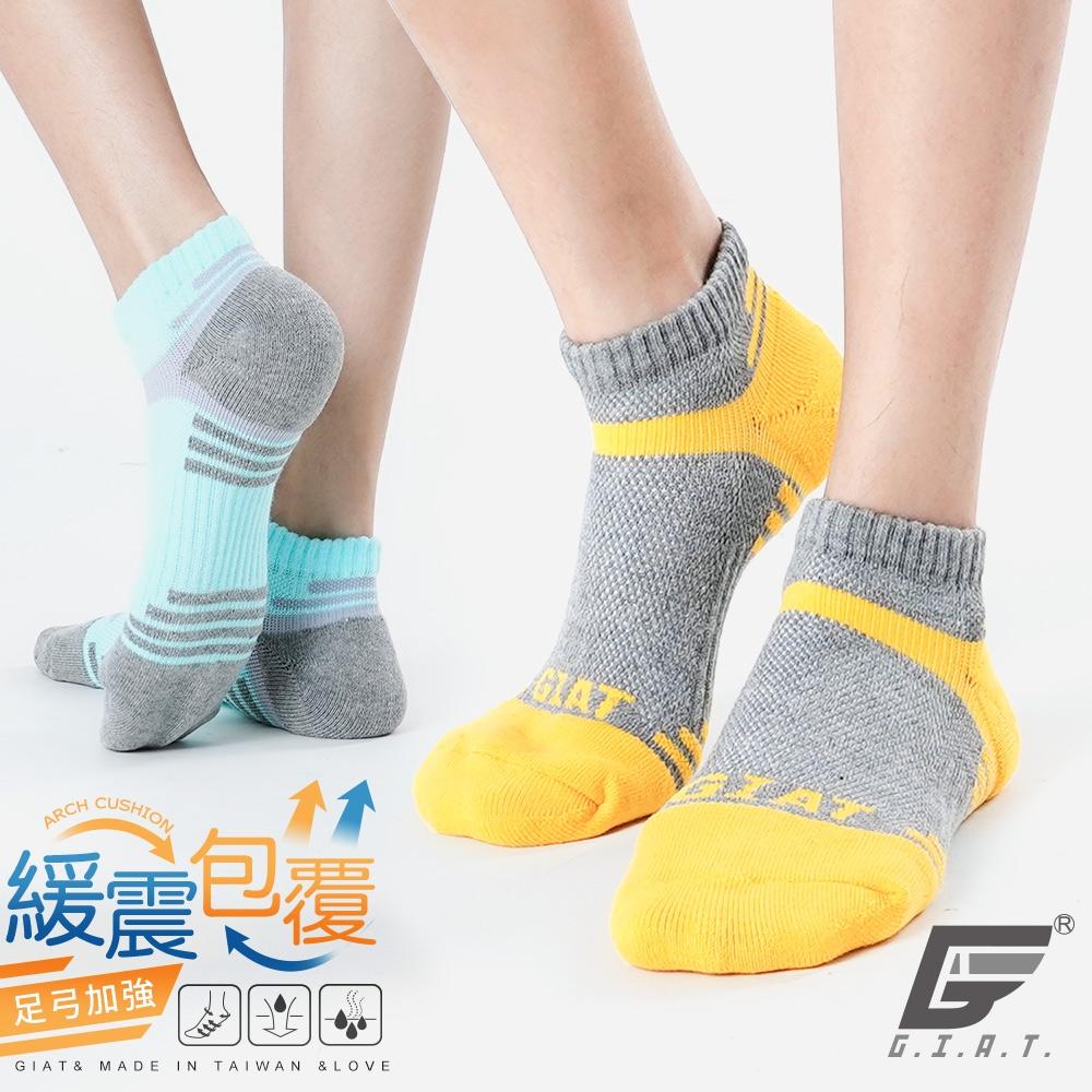 GIAT台灣製類繃機能萊卡運動襪(男女適用)